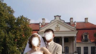 Wspaniał suknia ślubna