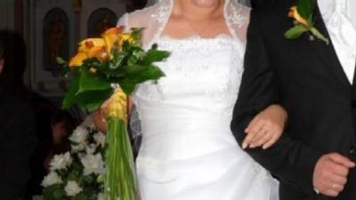 Wspaniała klasyczna suknia ślubna!!!