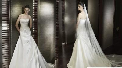 Wspaniała okazja! Suknia ślubna z hiszpańskiej kolekcji San Patrick