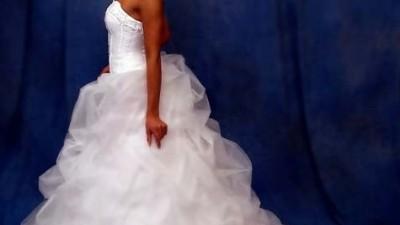 Wspaniala suknia ślubna