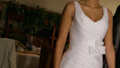 Wspaniała suknia ślubna na podstawie Victoria Jane 17504