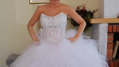 Wyjątkowa bajeczna suknia dla księżniczki