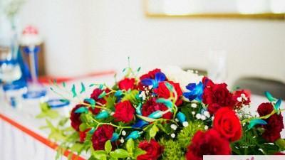 Wyjątkowa dekoracja sali weselnej/kościoła/florystyka