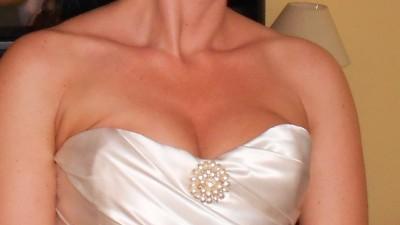 wyjatkowa i niepowtarzalna suknia-SPRZEDAM