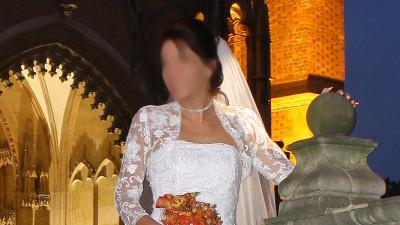Wyjątkowa koronkowa suknia ślubna MYSTIC 36/38