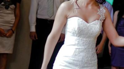 wyjątkowa, najpiękniejsza suknia ślubna