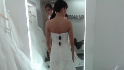 Wyjątkowa suknia MADONNA White One (ivory 36)