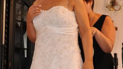 Wyjątkowa suknia na wyjątkowy dzień (rozmiar 40/42/44) + GRATIS