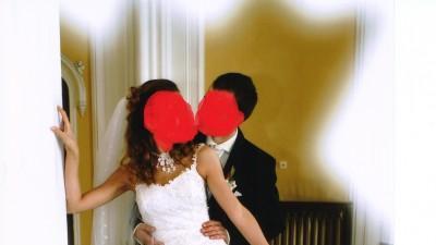 Wyjątkowa suknia ślubna 36-38
