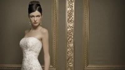 Wyjątkowa suknia ślubna Demetrios 1341 gratis welon i dodatki Swarovski