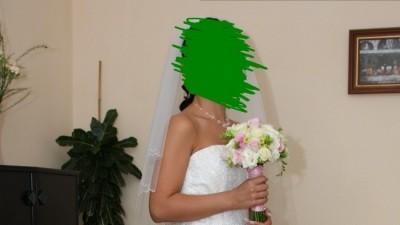 Wyjątkowa suknia ślubna Herms