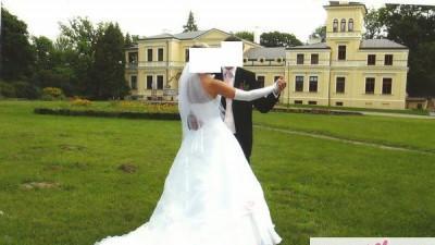 Wyjątkowa suknia ślubna roz. 36-38