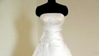 Wyjątkowa suknia ślubna, rozm. 36-42 +dodatki gratis