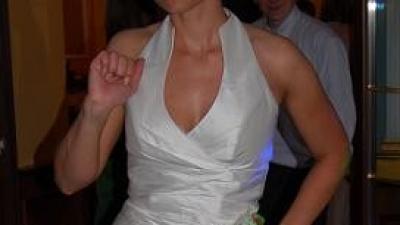 """Wyjątkowa suknia ślubna """"rybka"""" ze stójką"""