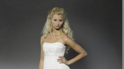 Wyjątkowa suknia ślubna szwedzkiej projektantki 36/38