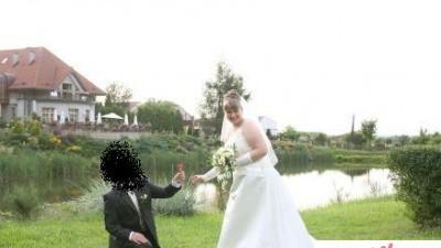Wyjątkowa suknia ślubna w dużym rozmiarze