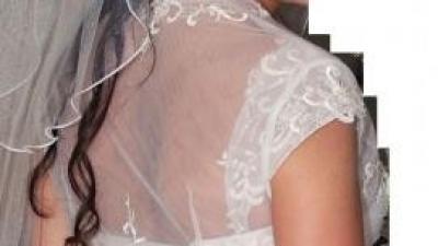 Wyjątkowa suknia ślubna z kryształkami Swarovskiego!!!