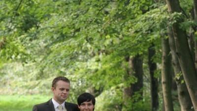 Wyjatkowo oryginalna suknia ślubna