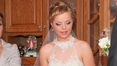 wyjątkowo piękna suknia ślubna