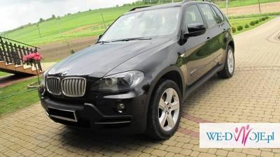 Wynajem BMWX5 do ślubu