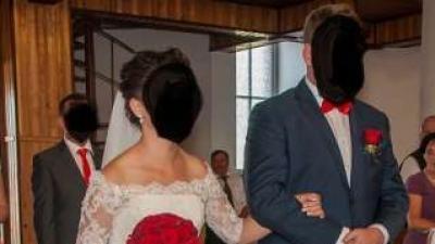WYTWORNA I WYJĄTKOWA suknia ślubna