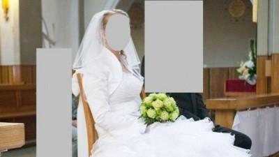 Yardenia BIAŁA firmy Karina jak nowa rozm 38, 170 cm