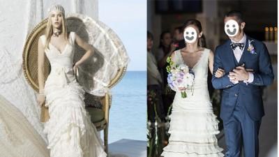 YolanCris Bulgaria suknia vintage w IDEALNYM stanie