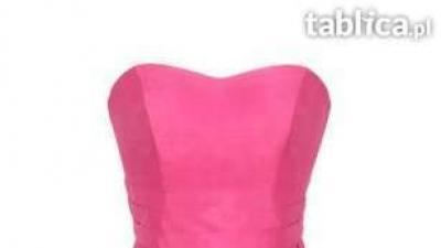 Yoshe sukienka Modny Róż 2012, jedwab