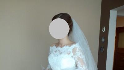 Zachwycająca suknia ślubna- Nicoletta Papilio 1439