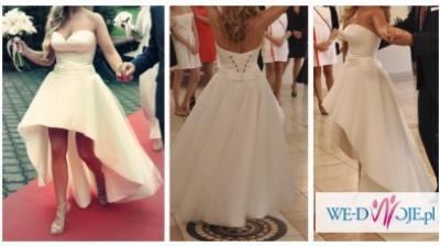 Zachwycająca suknia ślubna!!! STAN IDEALNY!
