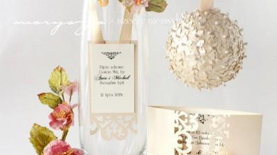zaproszenia na ślub CLORE