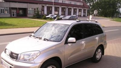 ZAWIOZę Parę Młodą do ślubu samochodem TOYOTA RAV4