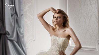 zjawiskowa biała suknia OLGA firmy GALA