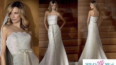 Zjawiskowa hiszpańska suknia ślubna