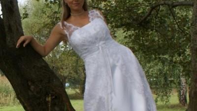 zjawiskowa koronkowa suknia rybnik