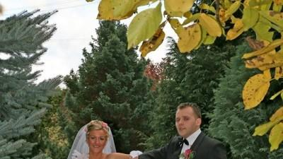 Zjawiskowa, oryginalna suknia ślubna