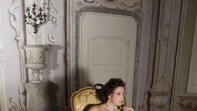 ***Zjawiskowa Suknia DEMETRIOS B155 Lisa Ferrera r. 34***