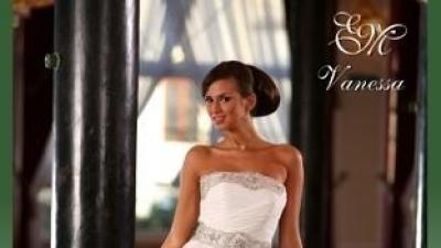 Zjawiskowa suknia EMMI MARIAGE model VANESSA 2009r