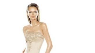 Zjawiskowa suknia La Sposa Selene 36 ecru