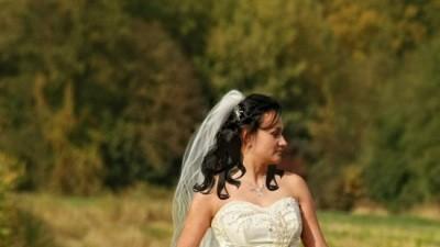 Zjawiskowa Suknia ślubna Lavende Emmi Mariage rozm 40/42