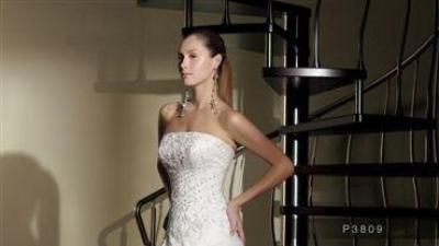 Zmysłowai subtelna suknia ślubna włoskiej kolekcji La Perla