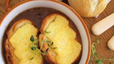 Zupa cebulowa - Kasia gotuje z Polki.pl