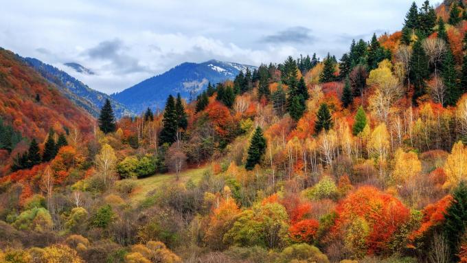 Jesień w górach Riła