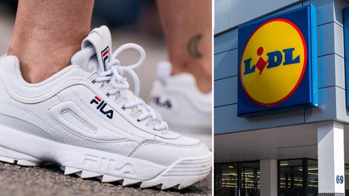 Kultowe sneakersy Fila do kupienia w Lidlu. Od kiedy będą