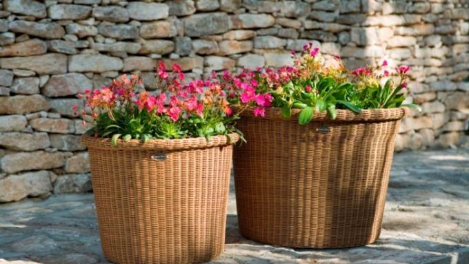 Ящики кашпо для цветов своими руками