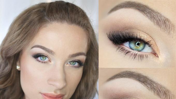 Makijaż Dla Blisko Osadzonych Oczu Krok Po Kroku Według Katosu