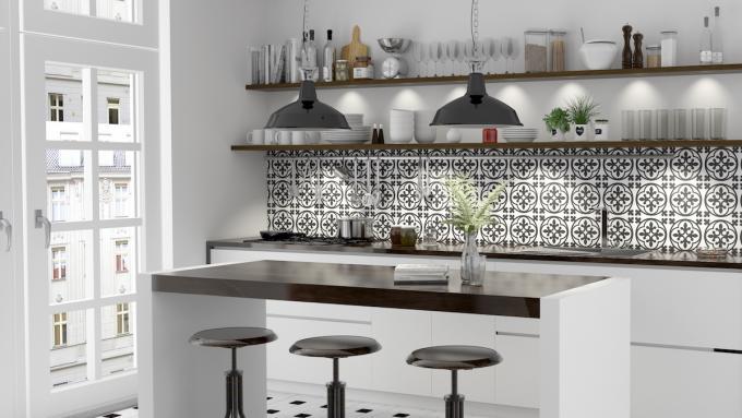 p�ytki do kuchni pod�ogowe i na ścianę dom aranżacje
