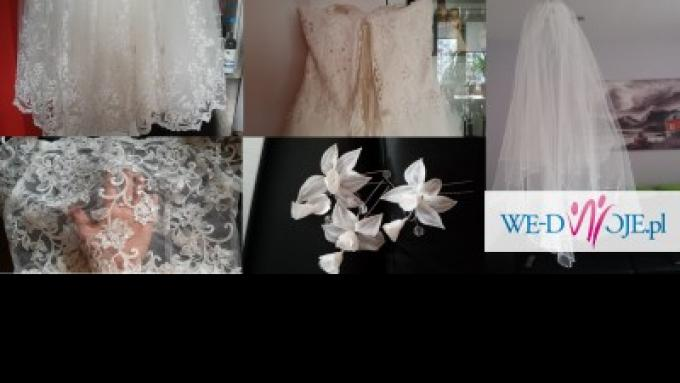 Sprzedam Suknię ślubną Model Yes Salon Afrodyta Suknie ślubne