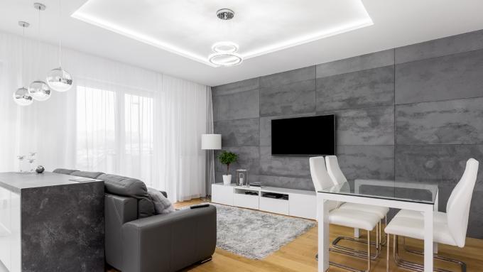 Sufit podwieszany podwieszany sufit jak go zrobi dom for Sufit podwieszany w salonie
