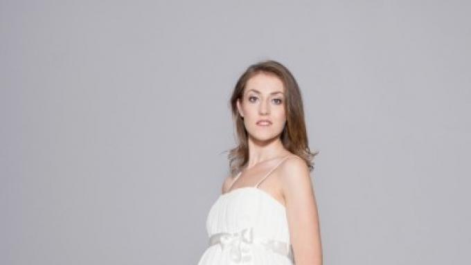 e84b145fe7 Sukienka ciążowa na ślub Anna - Odzież ciążowa - Zdjęcie 1 - Ogłoszenie -  Galeria - Komis